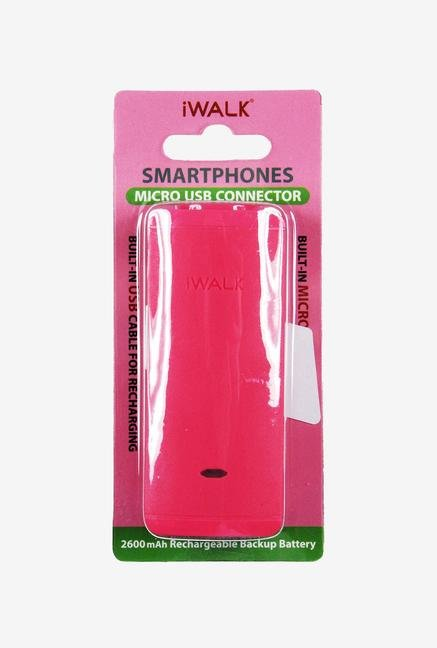iWalk Charge It 2600 mAh Power Bank (Pink)
