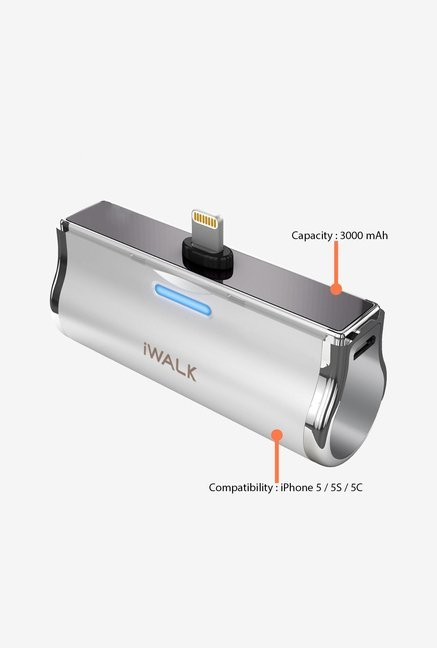 iWalk DBL3000L-002A 3000 mAh Power Bank Silver