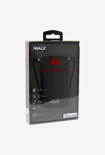 iWalk UBO6000-001A 6000 mAh Power Bank Black