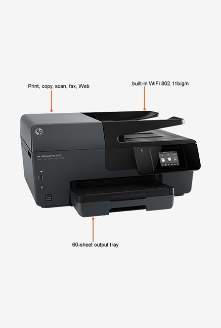 HP Officejet Pro 6830 All-in-One Printer Grey
