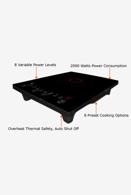 Croma CRG0131 Cooker Black