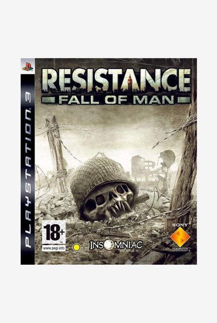 PS3 Resistance Fall of Man Game