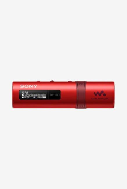 SONY Walkman NWZ-B183F/R 4 GB MP3 Player Red