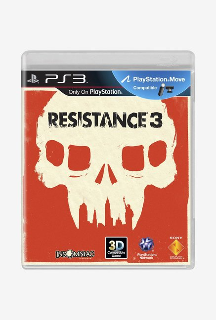 PS3 Resistance 3 Standard Edition Game