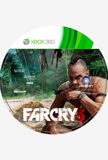 Xbox 360 Far Cry 3 Game