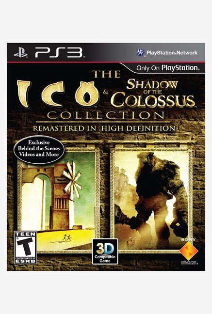 PS3 The ICO & Shadow of the Colossus Collection Game