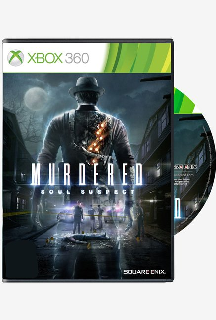 Xbox 360 Murdered Soul Suspect Game