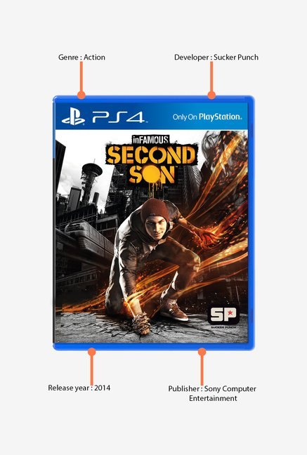 PS4 Infamous: Second Son Game