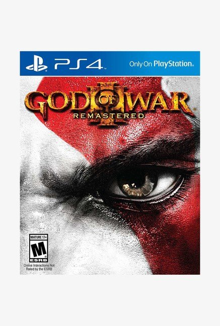 PS4 God of War III Remastered Game