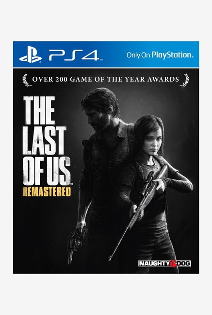 PS4 The Last of Us Remastered Game