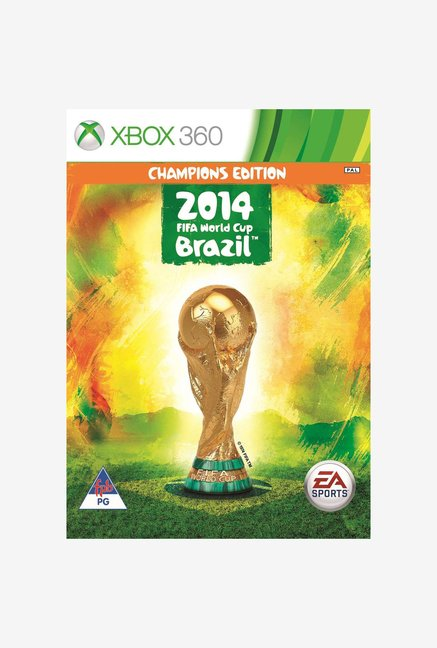 X360 2014 FIFA World Cup Game