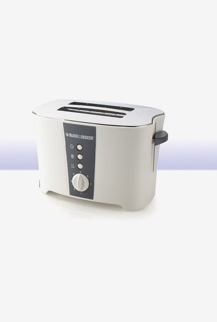 Black & Decker ET122 Toaster White