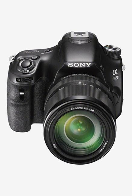 Sony Alpha SLT-A58M (with 18-135 mm Lens) DSLR Camera
