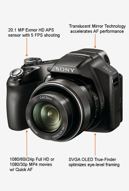 Sony Alpha SLT-A58K with (18-55mm Lens) DSLR Camera (Black)