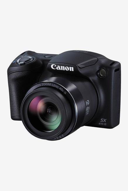 Canon PowerShot SX410 IS Digital Camera (Black)
