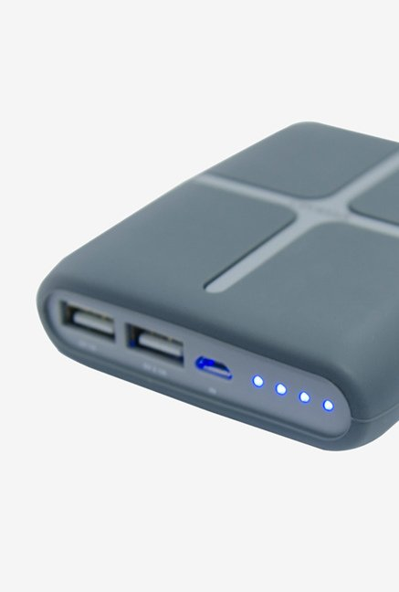 Croma CA0065 10400 mAh Power Bank Grey
