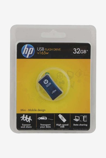 HP V165W 32 GB Pen Drive Blue