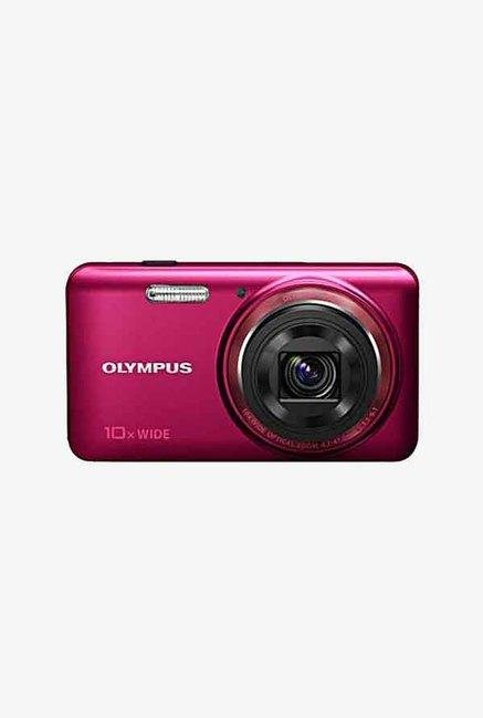 Olympus Stylus VH-520 14 MP Point & Shoot Red