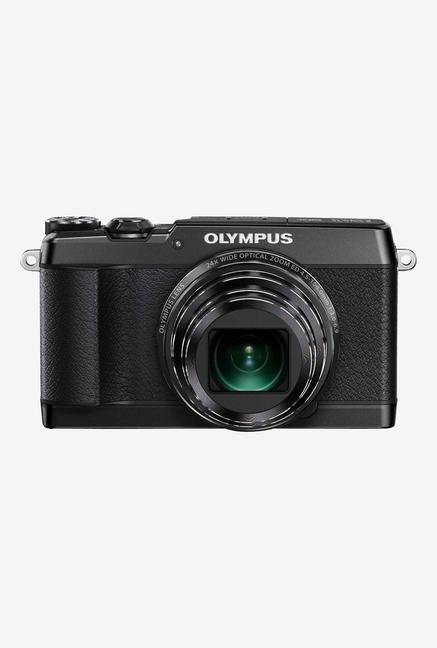 Olympus Stylus SH-1 16 MP Point & Shoot Black