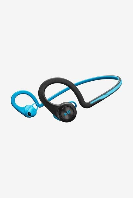 Plantronics BACKBEAT FIT, BLUE On the Ear Headset Blue