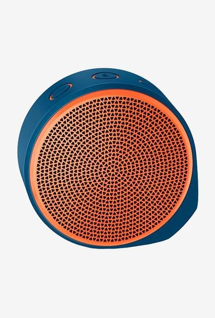 Logitech X100 1 Channel Mobile Wireless Speaker (Orange)