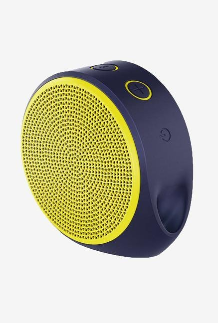 Logitech X100 1 Channel Mobile Wireless Speaker (Yellow)