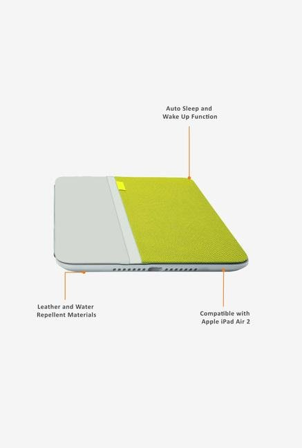 Logitech AnyAngle Case for iPad Air 2 Yellow