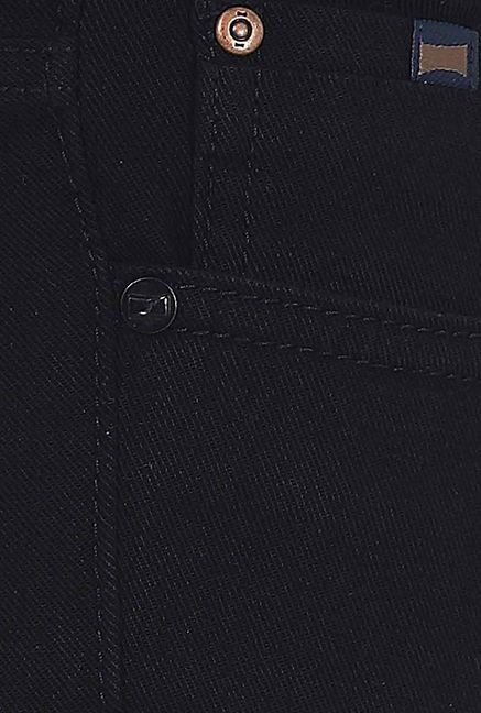 Basics Black Skinny Fit Jeans