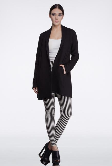 Femella Black Long Tailored Jacket