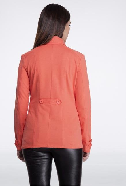 Femella Coral Double Breasted Jacket