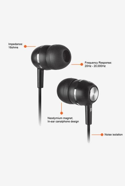 Creative EP-600 In-ear Headphones Black