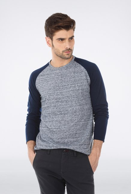 Basics Navy Crew Neck T Shirt
