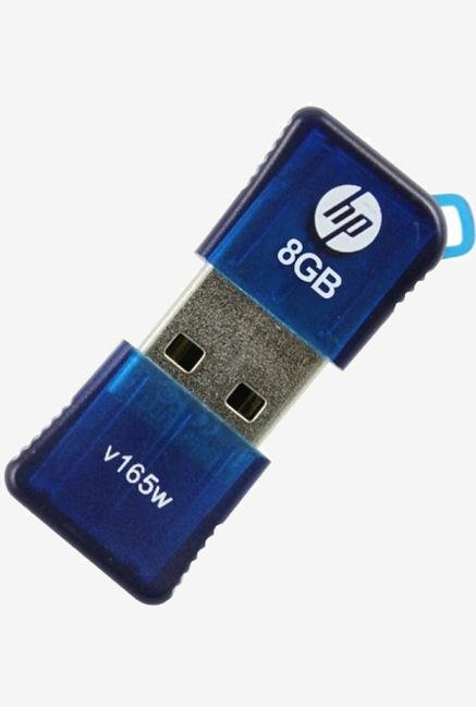 HP V165W 8 GB Pen Drive Blue