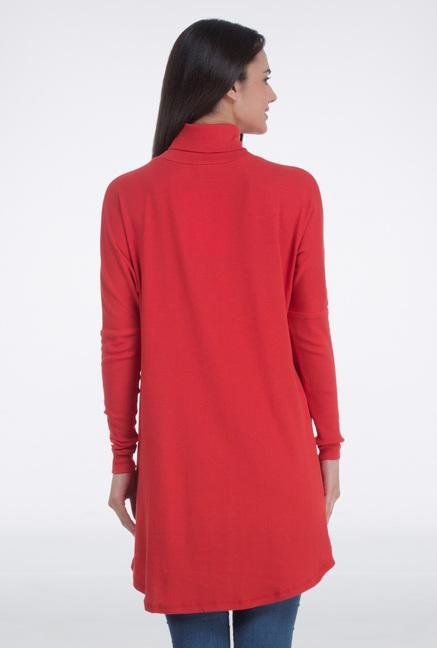 Femella Red Front Overlap Cape