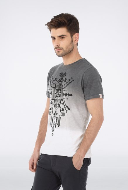 Basics Grey Crew Neck T Shirt