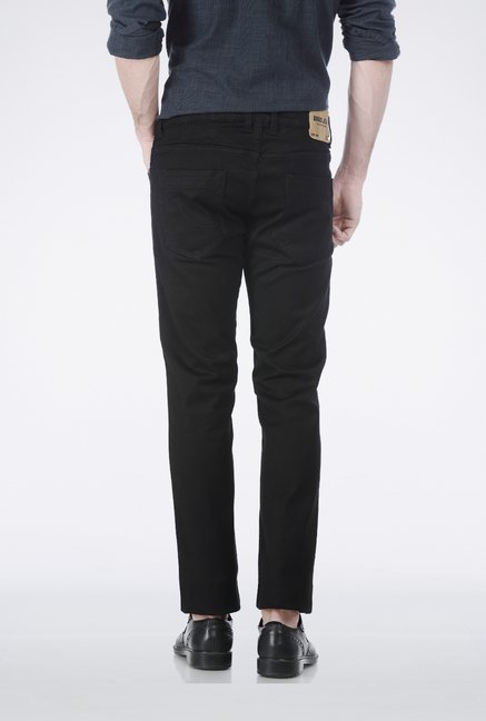 Basics Black Low Rise Jeans