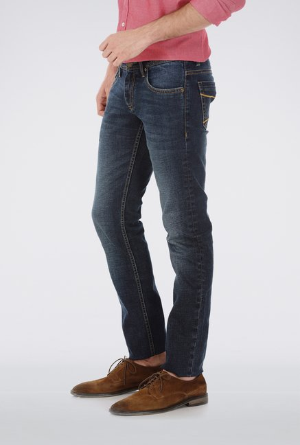 Basics Indigo Slim fit Jeans