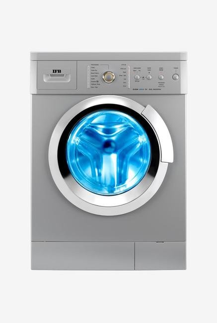 IFB 6Kg Fully Automatic Front Load Washing Machine Silver (Serena Aqua SX LDT, Silver)