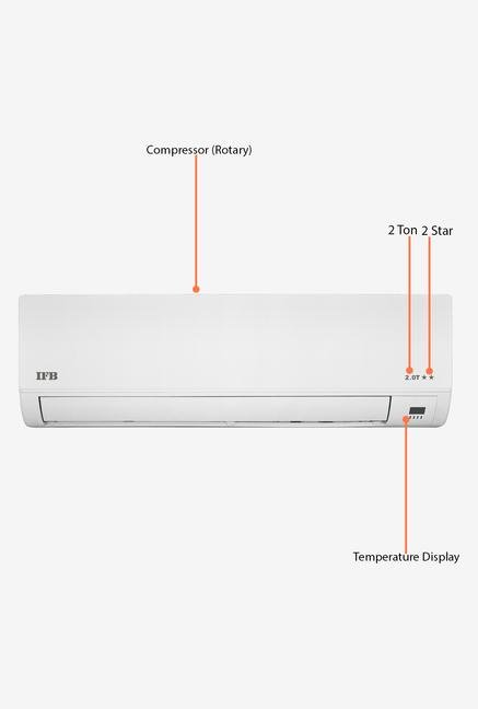 IFB IACS24AK2TC 2 Ton 2 Star Split AC (White)
