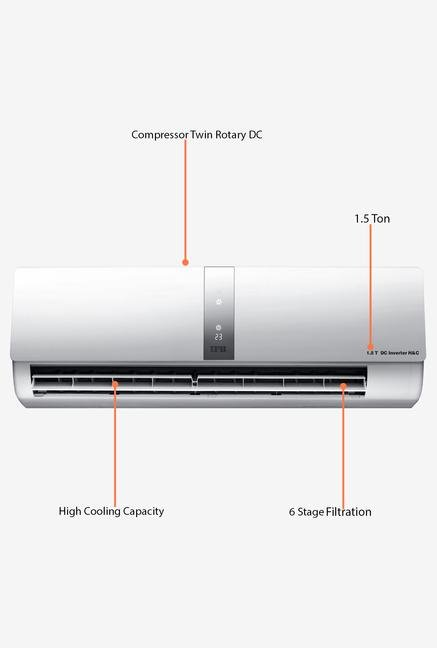 IFB IACS18JCHTC 1.5 Ton Hot & Cold Inverter Split AC (White)