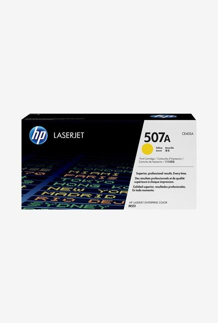 HP 507A LaserJet CE402A Toner Cartridge Yellow