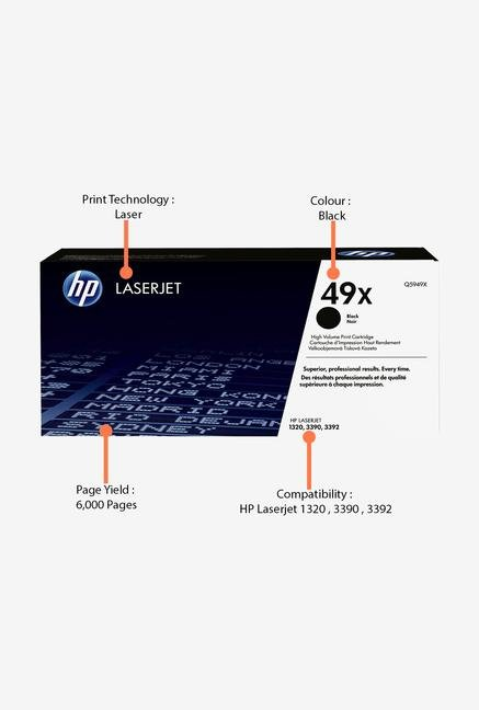 HP 49X Q5949X Print Cartridge Black