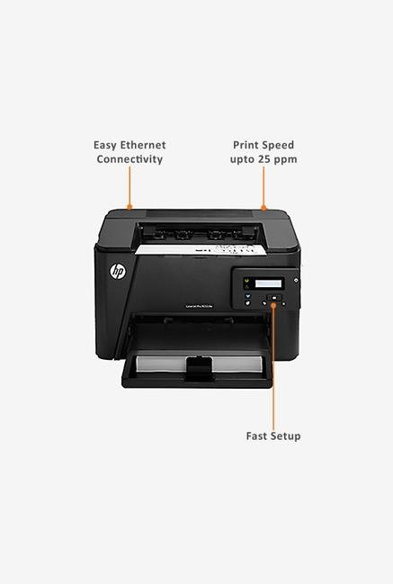 HP LaserJet Pro M202dw Laser Printer (Black)