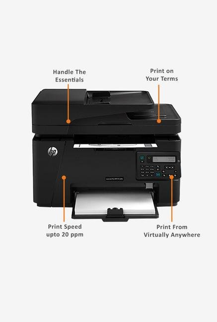 HP LaserJet Pro M128fn All In One Laser Printer (Black)