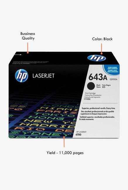 HP 643A LaserJet Q5950A Toner Cartridge Black