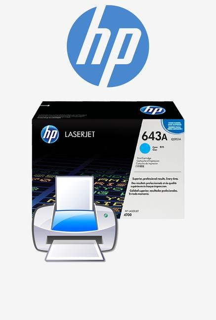 HP 643A LaserJet Q5951A Toner Cartridge Cyan