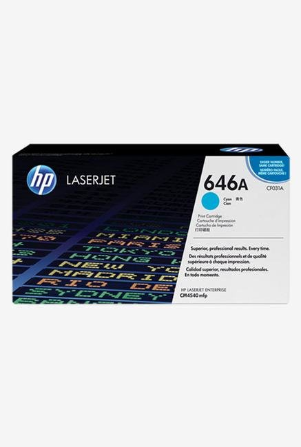 HP 646A LaserJet CF031A Toner Cartridge Cyan