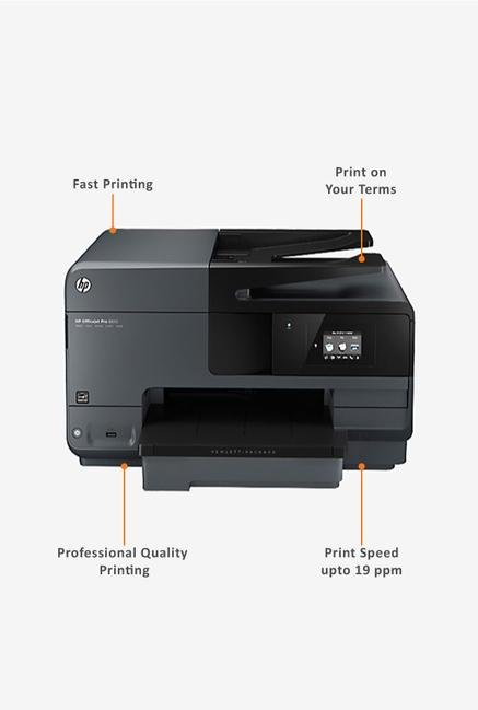 HP OfficeJet Pro 8610 AIO Printer Grey