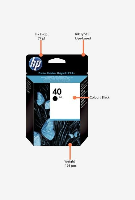 HP 40 51640AA Ink Cartridge Black