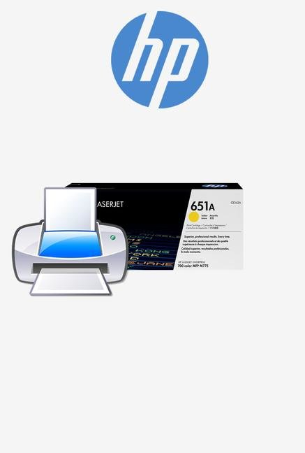 HP 651A LaserJet CE342A Toner Cartridge Yellow